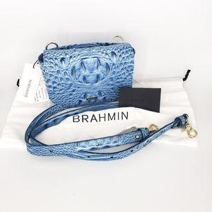 Brahmin Bags - New Brahmin LIL Side Purse Blue Cerulean Melbourne